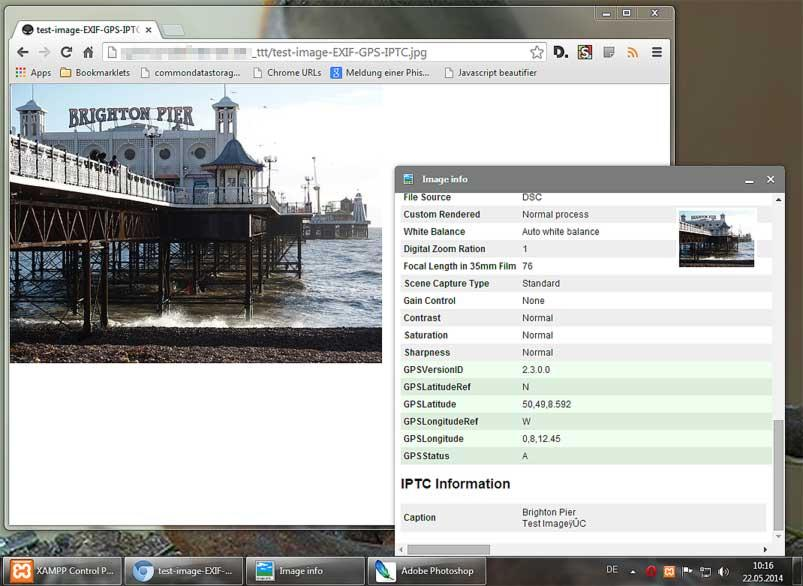 EXIF Viewer Extension for Chromium Based Browsers | Quhno